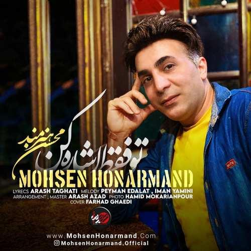 دانلود موزیک جدید محسن هنرمند تو فقط اشاره کن